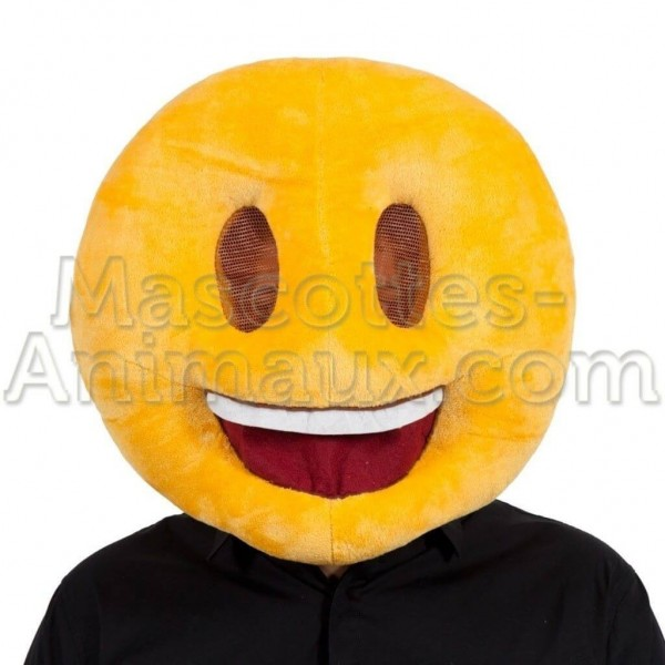 buy cheap smiley head mascot costume. Fancy smiley head mascot costume. Discount smiley head mascot.