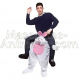 buy cheap rabbit riding mascot costume. Fancy rabbit riding mascot costume. Discount rabbit riding mascot.