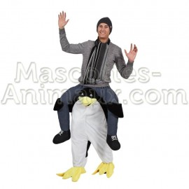 Buy cheap penguin riding mascot costume. Fancy penguin riding mascot costume. Discount penguin riding mascot