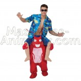 Buy cheap lobster riding mascot costume. Fancy lobster riding mascot costume. Discount lobster riding mascot.