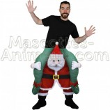Buy cheap santa claus riding mascot costume. Fancy santa claus riding mascot costume. Discount santa claus riding mascot