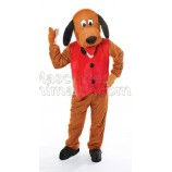 Buy cheap dressed dog mascot costume. Fancy dressed dog mascot costume. Discount dog mascot.