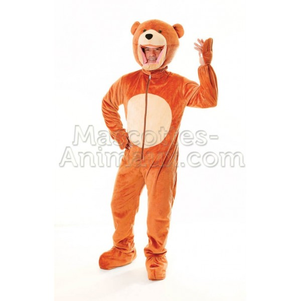 Buy cheap bear mascot costume. Fancy bear mascot costume. Discount bear mascot.