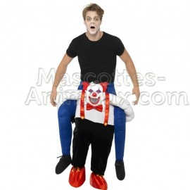 Buy cheap riding mascot naughty clown costume. Fancy naughty clown riding mascot costume. Discount clown riding mascot.
