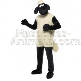 Buy cheap mascot sheep shaun costume. Fancy cheep shaun mascot costume. Discount cheep mascot.