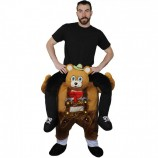 Buy cheap bavarian bear riding mascot costume. Fancy bavarian bear riding mascot costume. Discount bear riding mascot.