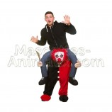 Buy cheap evil clown riding mascot costume. Fancy evil clown riding mascot costume. Discount clown riding mascot.