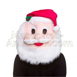 Buy cheap santa mascot costume head. Santa mascot head.