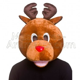 buy cheap reindeer head mascot costume. Fancy reindeer head mascot costume. Discount reindeer head mascot.