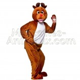 Buy cheap reindeer mascot costume. Fancy reindeer mascot costume. Discount reindeer mascot.