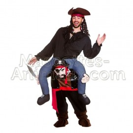 Buy cheap pirate mascot costume. Pirate riding mascot costume.