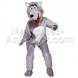 Buy cheap wolf mascot costume. Fancy wolf mascot costume. Discount wolf mascot.
