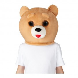 déguisement mascotte tête ours Ted