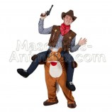 buy cheap riding horse mascot costume. Fancy horse riding mascot costume. Discount horse mascot.