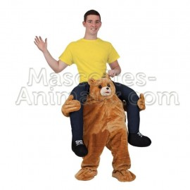 achat riding mascotte ours teddy bear pas chère. Déguisement mascotte teddy bear. Mascotte discount teddy bear .