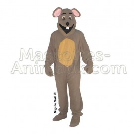 Buy cheap grey mousse mascot costume. Fancy mousse mascot costume. Discount mousse mascot.